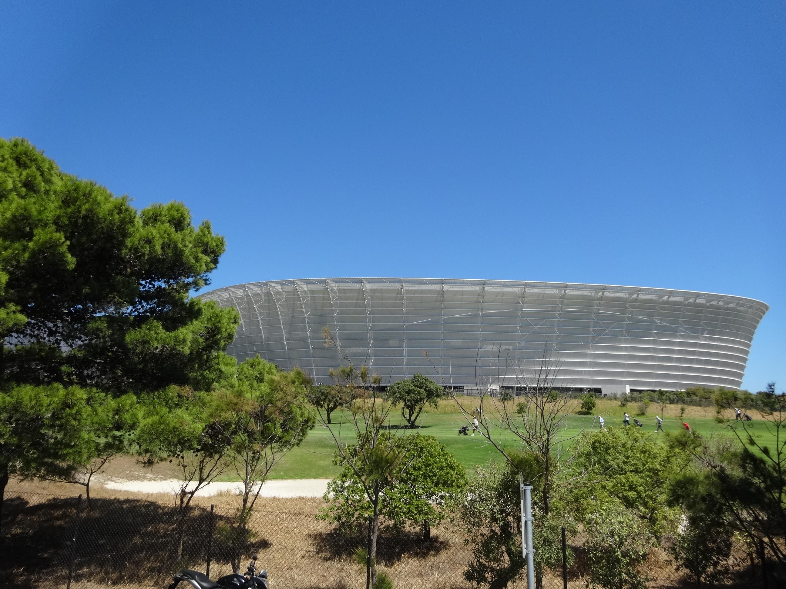 Het stadion van Kaapstad
