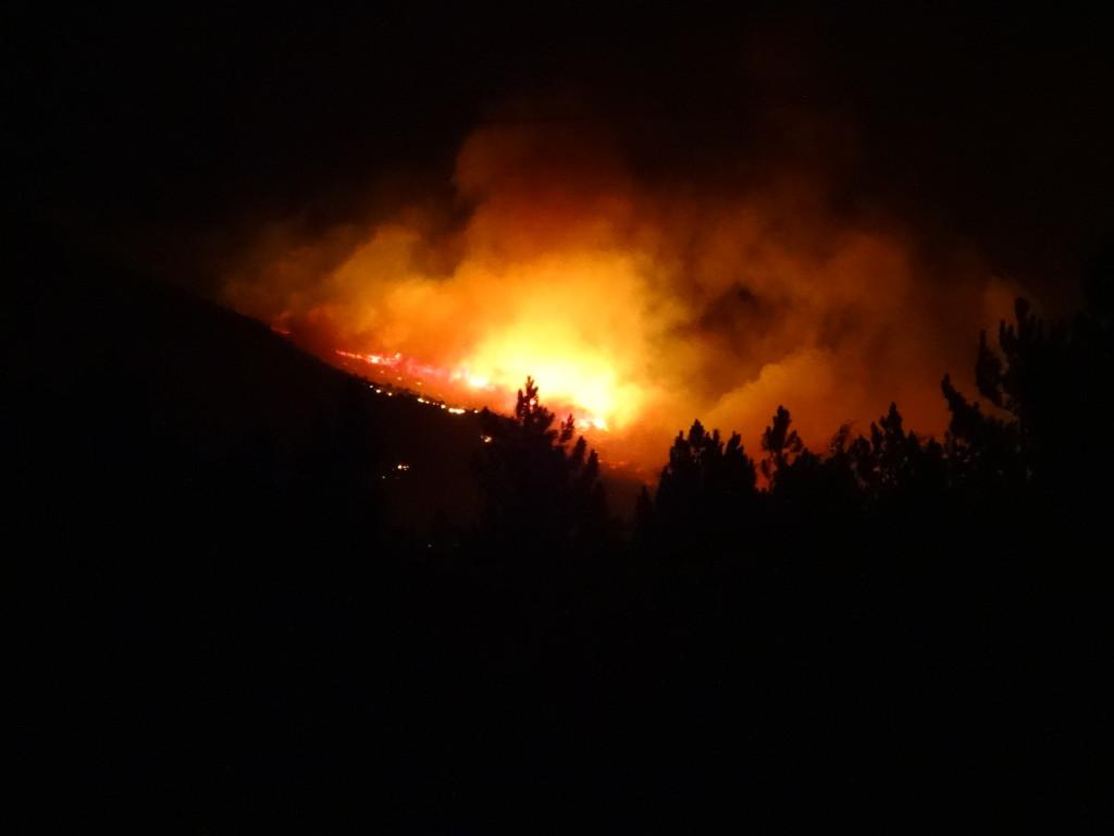 bosbrand Hermanus, Zuid-Afrika