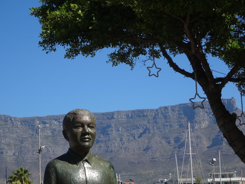 Nelson Mandela, Kaapstad, Zuid-Afrika