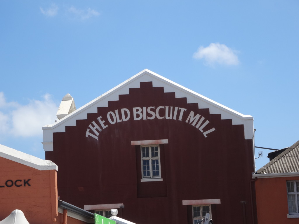 The Old Bisquit Mill, Kaapstad, Zuid-Afrika