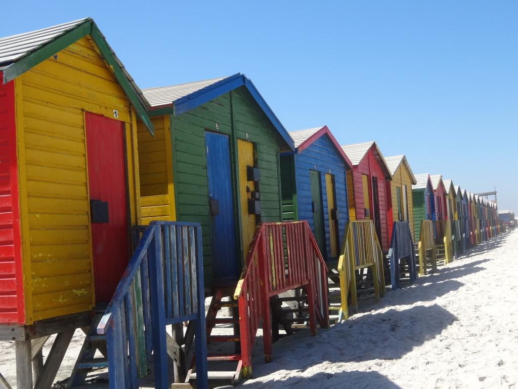 Muizenberg bij kaapstad, Zuid-Afrika