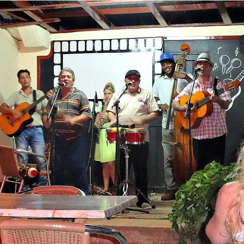 Patio del Decimista, Vinales, Cuba