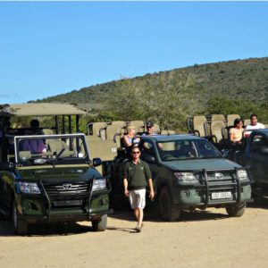 rangers in Garden Route Game Lodge