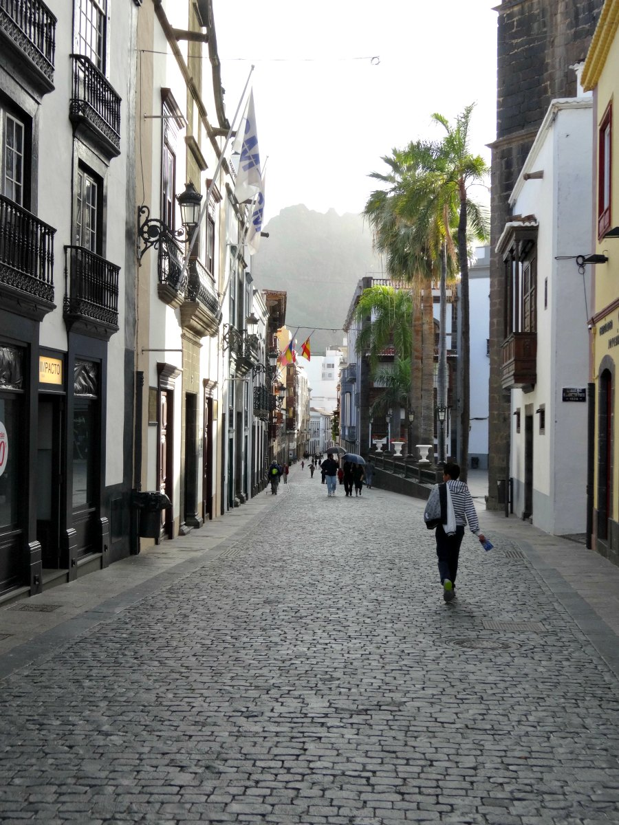 hoofdstraat Santa Cruz
