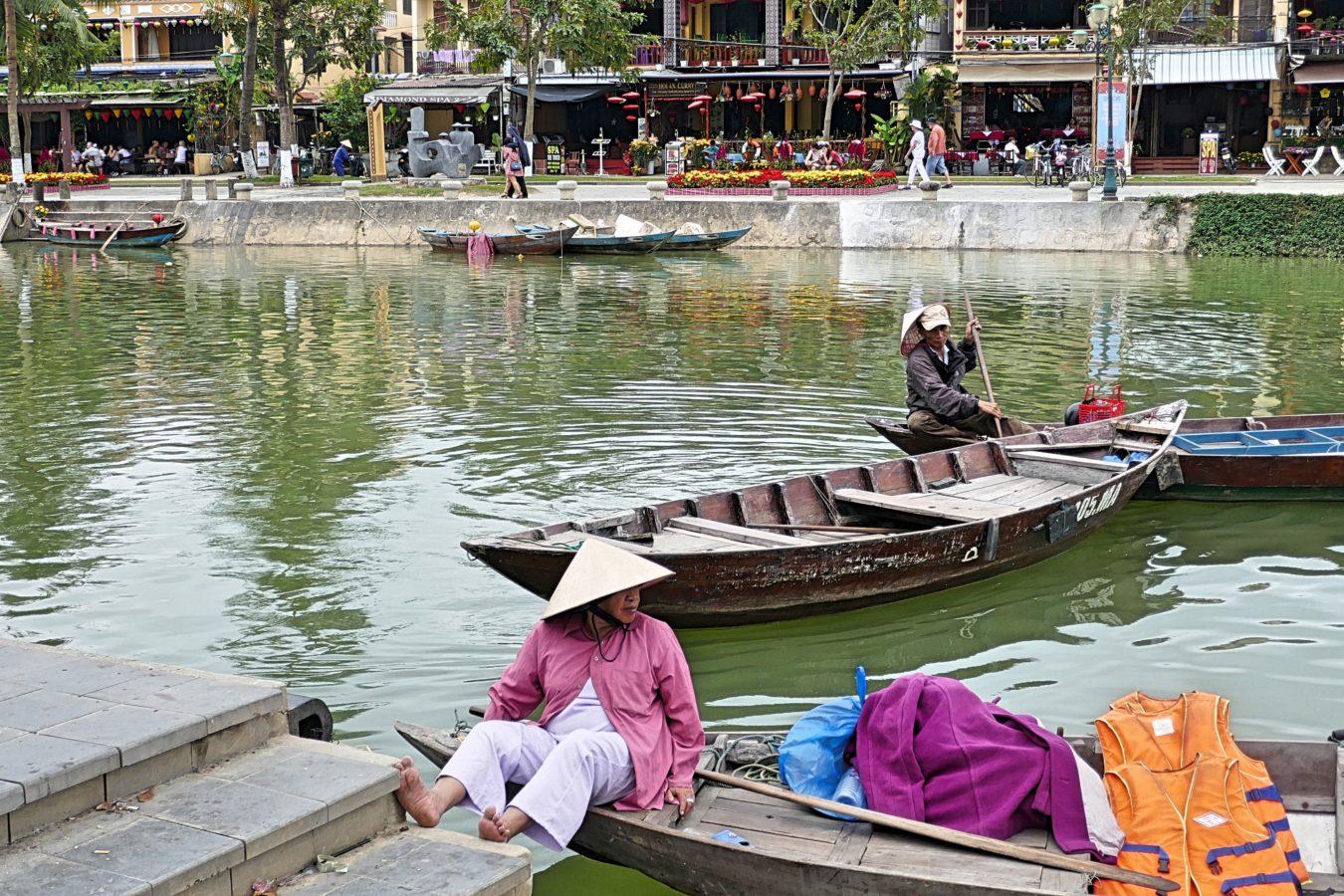 boten in Hoi An